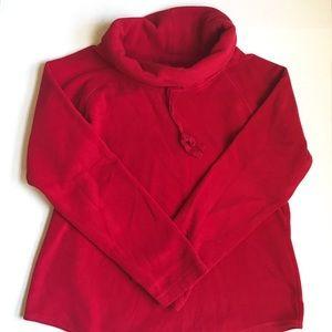GH Bass & Co Fleece Turtleneck Sweatshirt | Size L